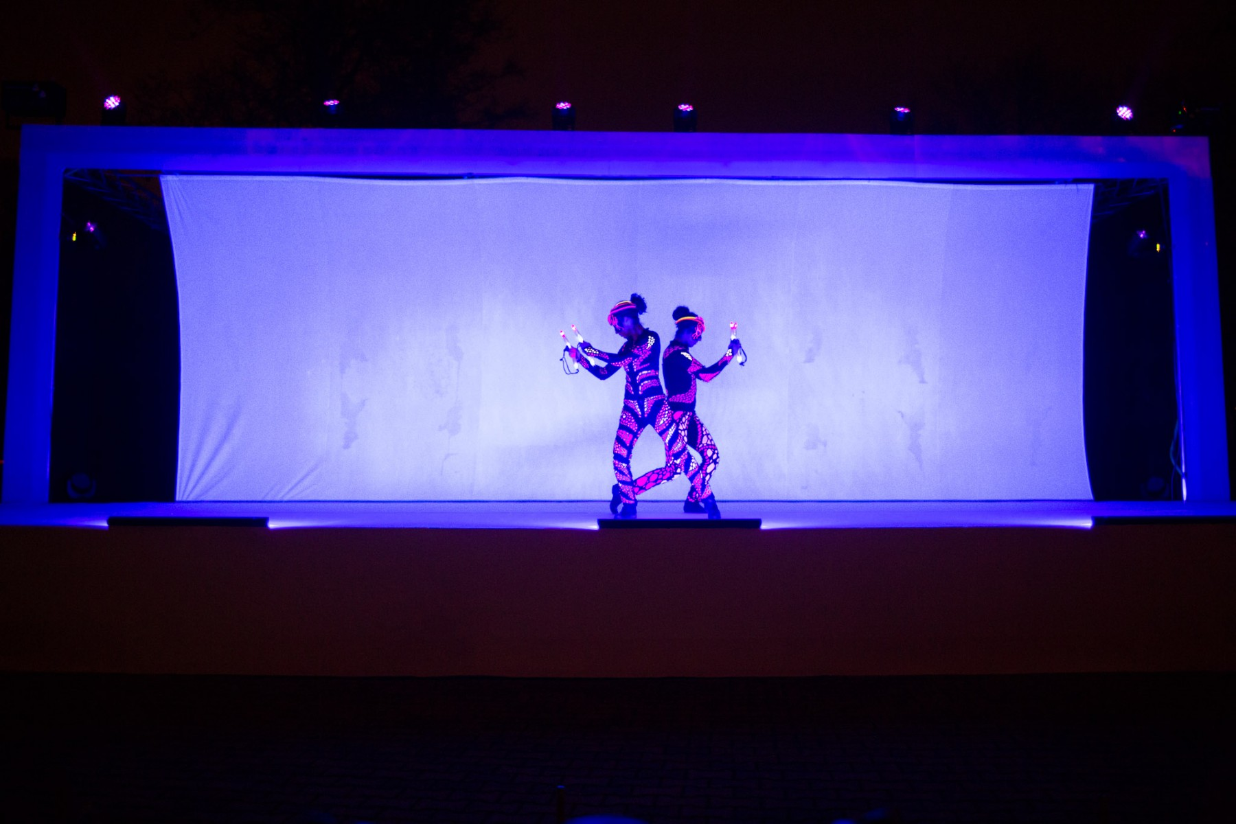 multimedia stage show